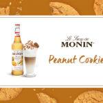 Syrop MONIN Peanut Cookie